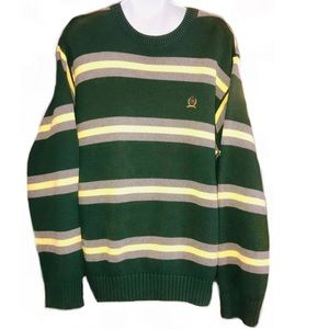 Tommy Hilfiger COTTON Men's Crew Sweater- Lg